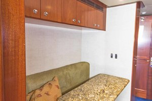 119' Crescent RPH Euro Transom 2004 Crew Lounge