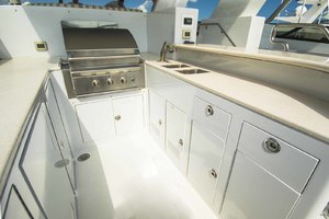 119' Crescent Rph Euro Transom 2004 Flybridge Bar