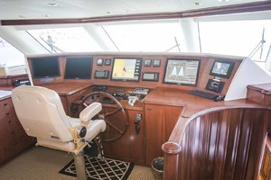 119' Crescent Rph Euro Transom 2004 Pilothouse