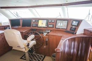 119' Crescent RPH Euro Transom 2004 Pilothouse