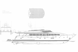 119' Crescent Rph Euro Transom 2004 Layout