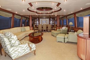 119' Crescent Rph Euro Transom 2004 Salon Looking Forward