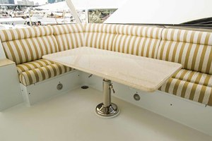 119' Crescent Rph Euro Transom 2004 Flybridge Bar Seating