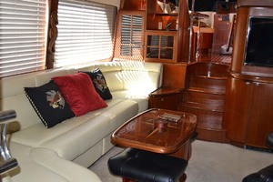 54' Pama 540 Xl Pilothouse 2007 Salon Port