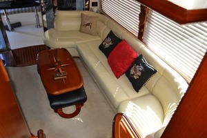 54' Pama 540 Xl Pilothouse 2007 Salon Aft