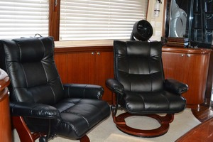 54' Pama 540 Xl Pilothouse 2007 Salon Starboard