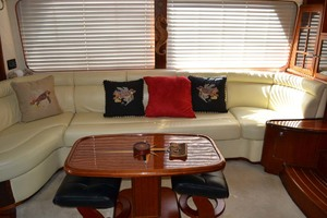 54' Pama 540 Xl Pilothouse 2007 Salon Settee