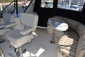 54' Pama 540 Xl Pilothouse 2007 Helm Seats