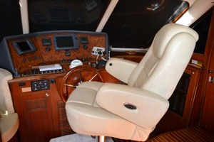 54' Pama 540 Xl Pilothouse 2007 Lower Helm Seat