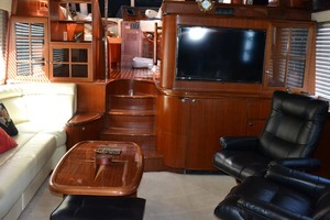 54' Pama 540 Xl Pilothouse 2007 Salon Forward