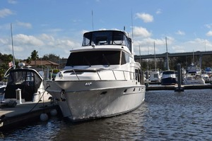 54' Pama 540 Xl Pilothouse 2007 Bow