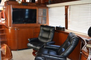 54' Pama 540 Xl Pilothouse 2007 Salon TV