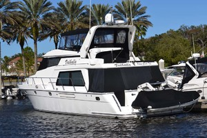 54' Pama 540 Xl Pilothouse 2007 Port Aft Quarter
