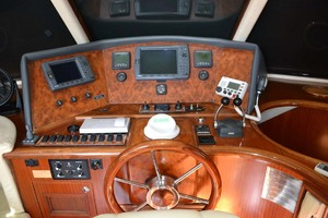54' Pama 540 Xl Pilothouse 2007 Lower Helm