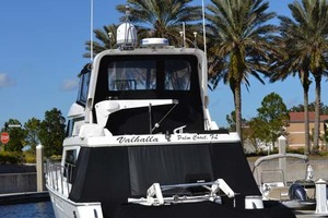 54' Pama 540 Xl Pilothouse 2007 Stern