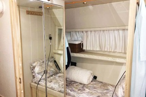 47' Bayliner 4788 Motoryacht 1998 Guest Cabin