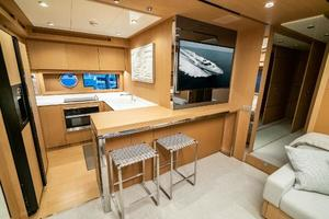 88' Riva 88' Florida 2016 Galley 1