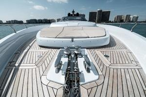 88' Riva 88' Florida 2016 Bow Facing Aft