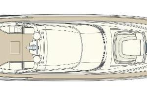 88' Riva 88' Florida 2016 Manufacturer Provided Image: Riva 88' Florida Sundeck Layout Plan
