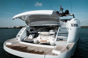 88' Riva 88' Florida 2016 Tender Garage
