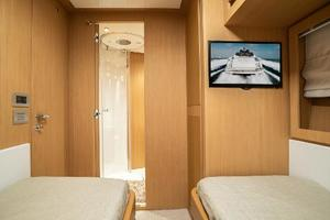 88' Riva 88' Florida 2016 Guest Stateroom Stbd 2