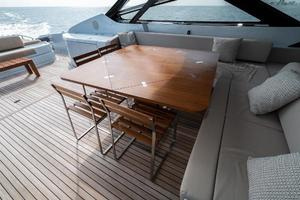 88' Riva 88' Florida 2016 Teak Table Fold Out