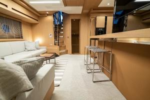 88' Riva 88' Florida 2016 Salon Facing Aft