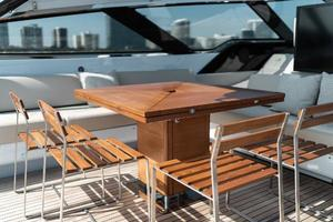 88' Riva 88' Florida 2016 Teak Table