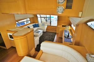 70' Johnson 70 1997 Salon looking aft