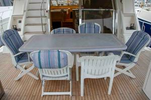 70' Johnson 70 1997 Aft deck 2