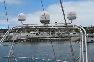58' Tayana 58 Deck Saloon 2006 Satalite Domes for TV and Phone
