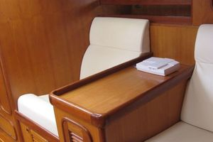 58' Tayana 58 Deck Saloon 2006 Two Seats built into salon with storage