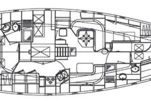 55' Tayana Center Cockpit 1992 Sistership