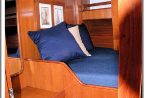 55' Tayana Cutter Rig Center Cockpit 1986 Guest Stateroom Forward Port