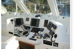 50' Novatec Islander Cockpit Motor Yacht 2019 Helm Station