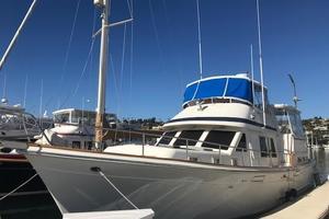 48' Offshore Yachts Cockpit Motoryacht 1986