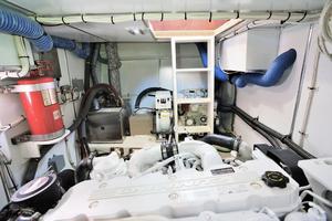 41' Concorde Pilothouse 2010 Engine room