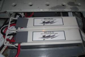 35' Californian Convertible 1985 Marine Deep Cycle Batteries