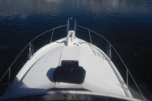 35' Californian Convertible 1985 Emergency Life Raft on Bow