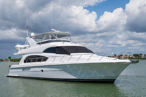 64' Hatteras Flybridge Motoryacht 2008 Alternate Profile
