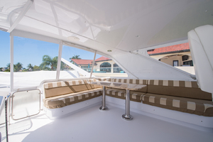 64' Hatteras Flybridge Motoryacht 2008 Flybridge Looking to Starboard