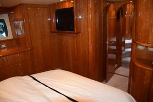 62' Neptunus Flybridge With Euro Transom 2008 Master SR TV and entry door