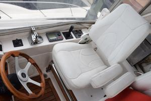 62' Neptunus Flybridge With Euro Transom 2008 Lower helm chair