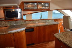 62' Neptunus Flybridge With Euro Transom 2008 Glass storage and Microwave-Convection