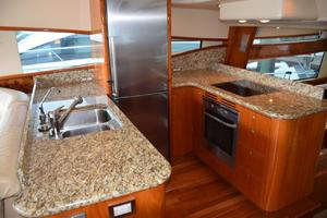 62' Neptunus Flybridge With Euro Transom 2008 Galley, Granite countertops