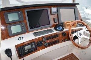 62' Neptunus Flybridge With Euro Transom 2008 FLybridge Helm
