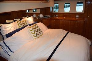 62' Neptunus Flybridge With Euro Transom 2008 Master Berth