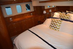 62' Neptunus Flybridge With Euro Transom 2008 MSR hullside windows