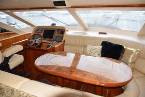 62' Neptunus Flybridge With Euro Transom 2008 Dinette and lower helm