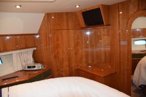 62' Neptunus Flybridge With Euro Transom 2008 VIP stateroom TV